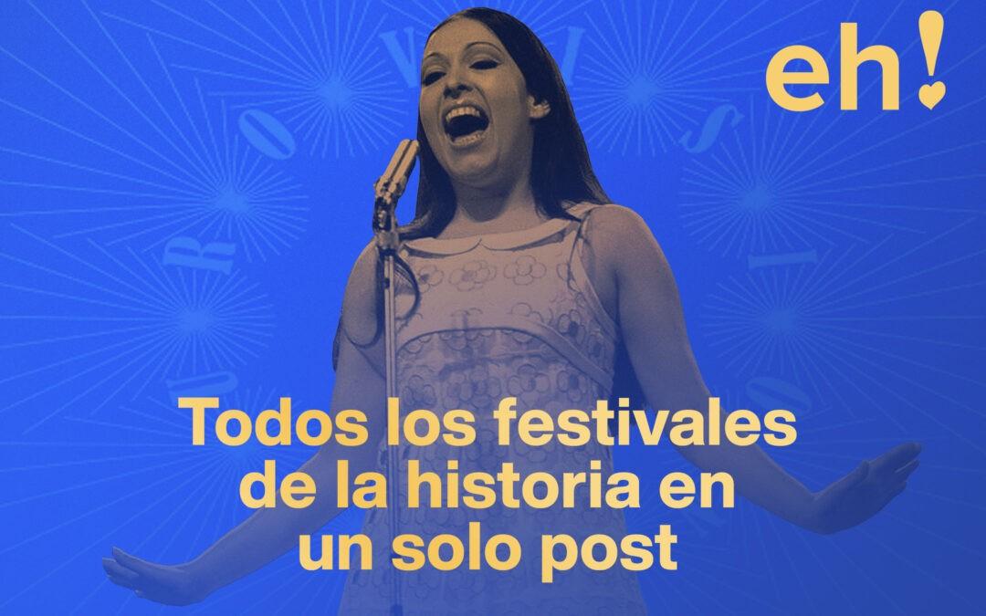 Guía: todos los festivales de Eurovisión en un post