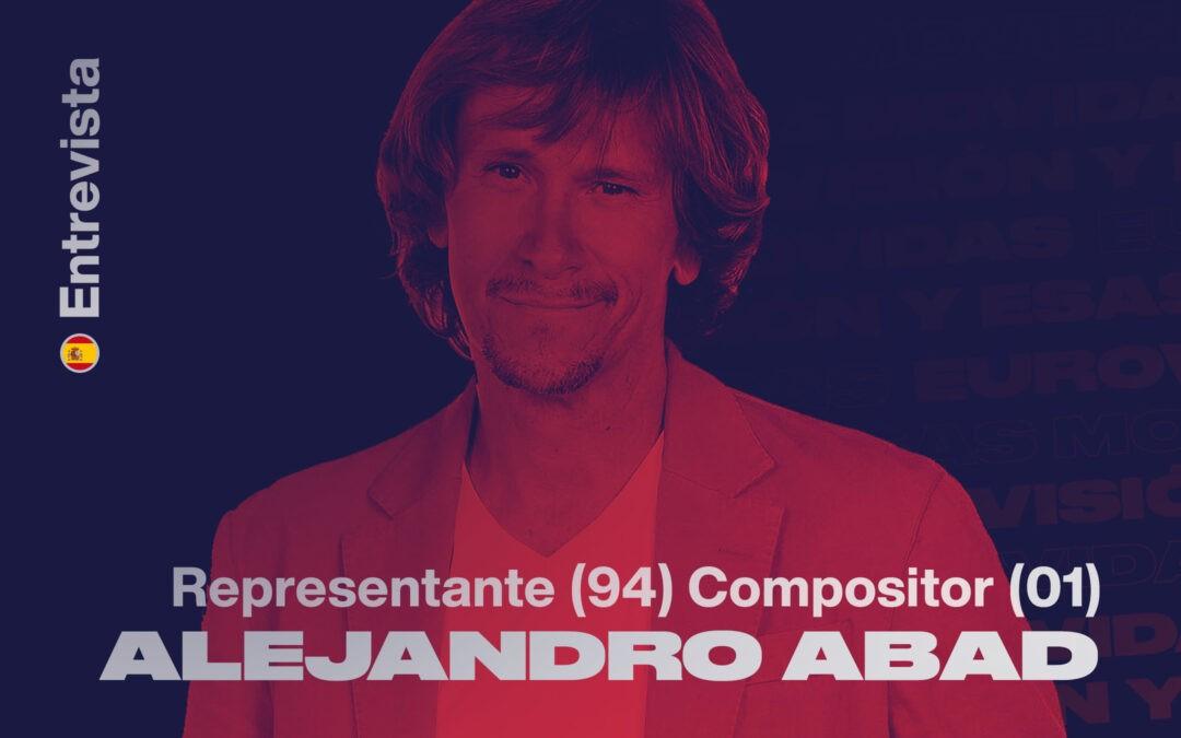 "Alejandro Abad: ""Cada año que vamos a Eurovisión, me quedo con la sensación de que vamos a improvisar"""