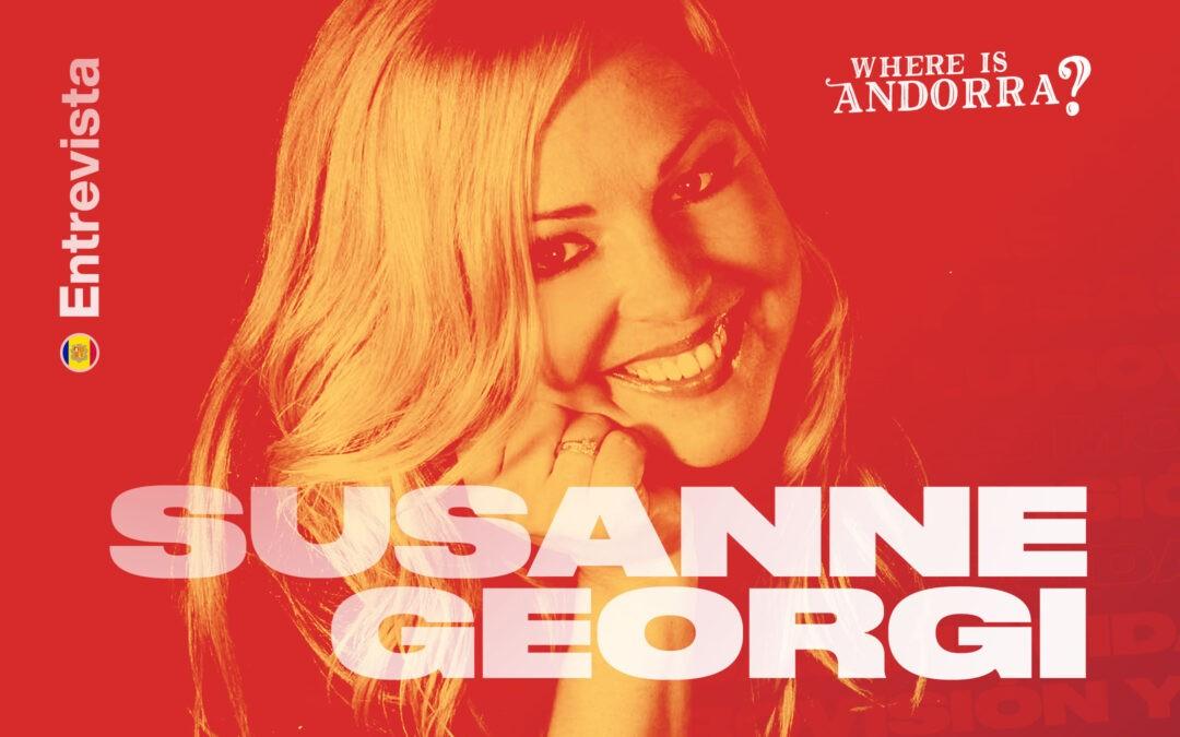 entrevista susanne georgi vuelta andorra eurovisión
