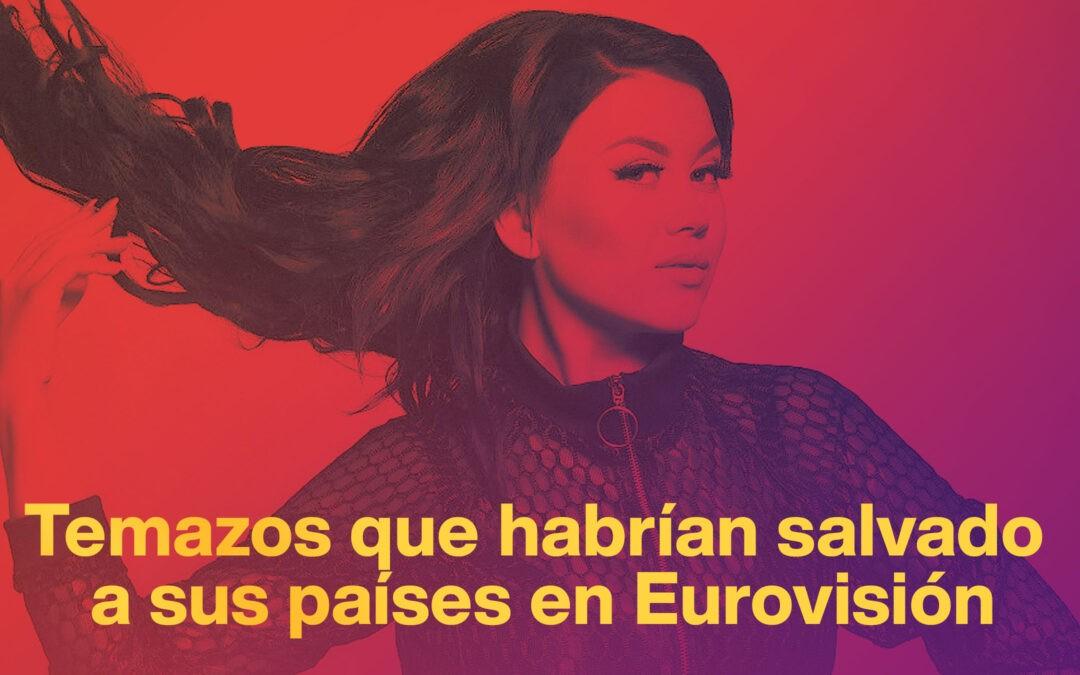 Temazos que habrían salvado a sus países del fracaso en Eurovisión