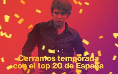 Un top 20 de España en Eurovisión para cerrar la temporada