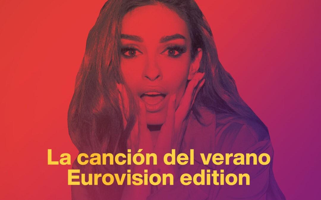 Canciones eurovisivas que podrían sonar en un chiringuito de playa