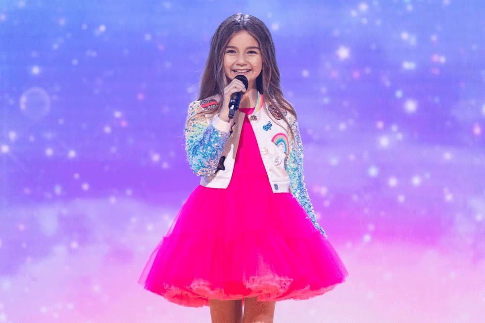 Valentina, ganadora de Francia en Eurovisión Junior 2020